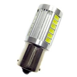 Ampoule P21W BA15S 21 Leds 5630 9 à 30 volts
