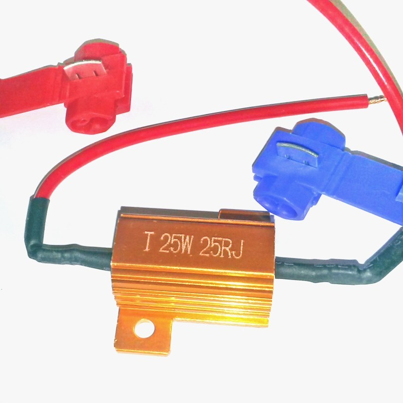 Résistance de charge pour clignotants 24 volts