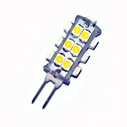 Ampoule led G4 à 26 leds 3020 blanc chaud