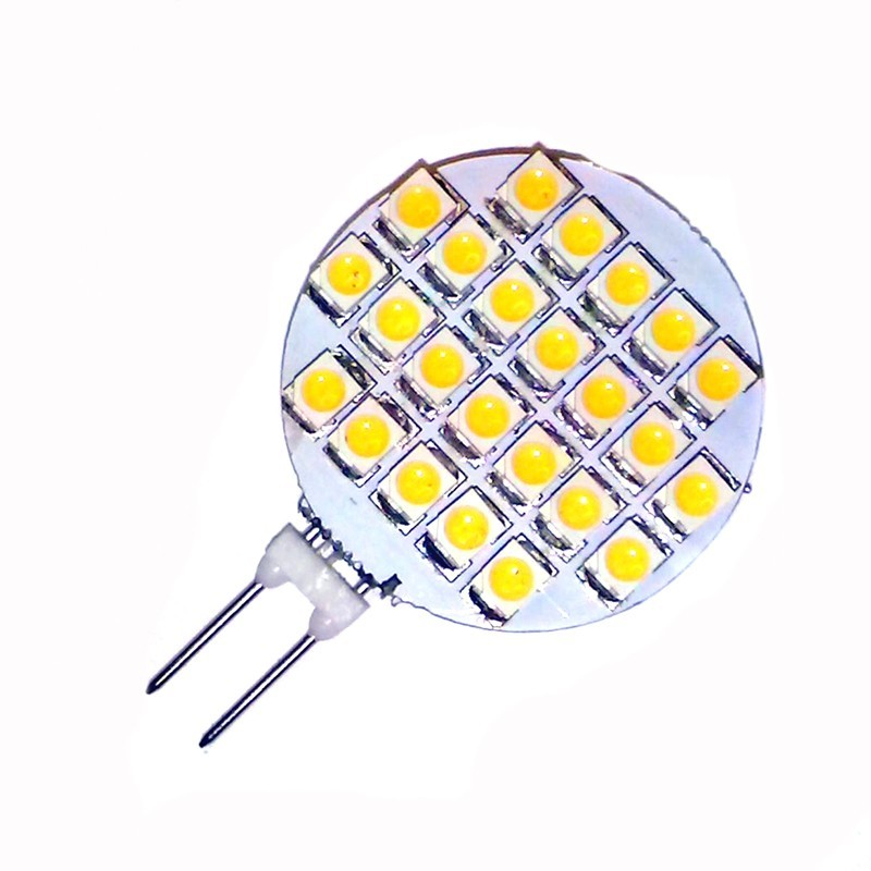 Ampoule led G4 à 24 leds 3020 blanc chaud