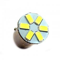 Ampoule R5W R10W BA15S 6 Leds 5630