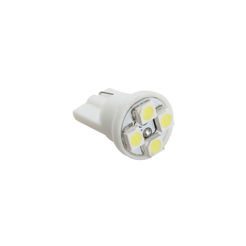 Ampoule led t10 w5w 4 leds led effect - Ampoule led w5w ...