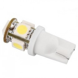 ampoule led Wedge T10 W5W 5 leds