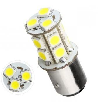 Ampoule P21W-BA15S 13 Leds blanches