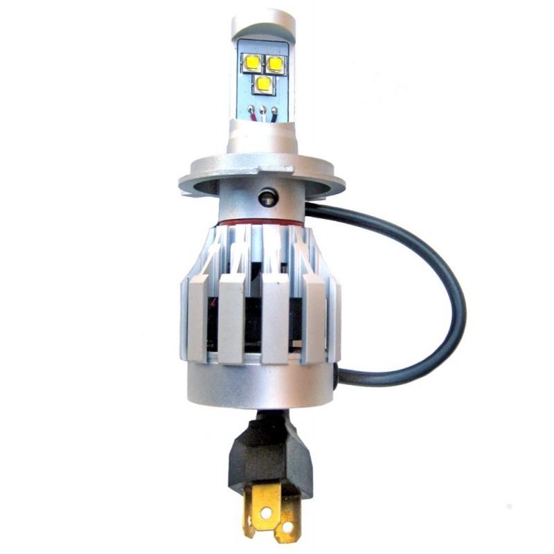 Ampoule led h4 2000 3000 lumens led effect - Ampoule h4 led ...