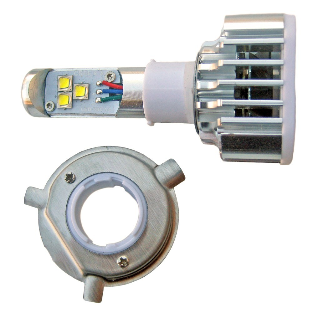 Ampoule led H4 2000/3000 lumens 9 - 30 volts