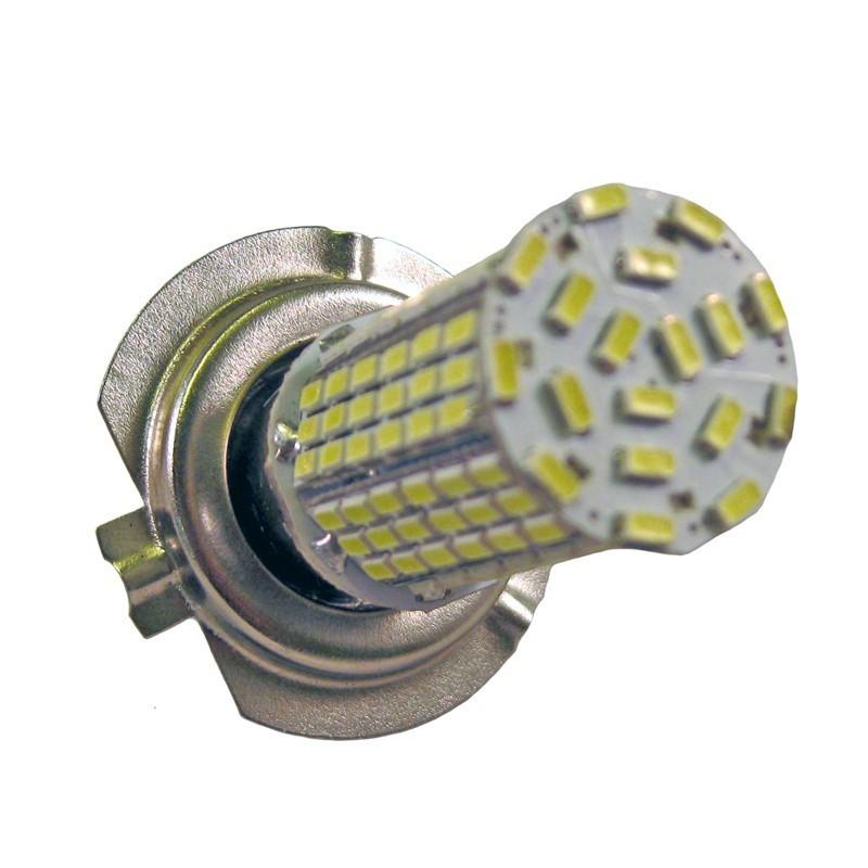 ampoule h7 144 leds blanches 9 30 volts led effect. Black Bedroom Furniture Sets. Home Design Ideas