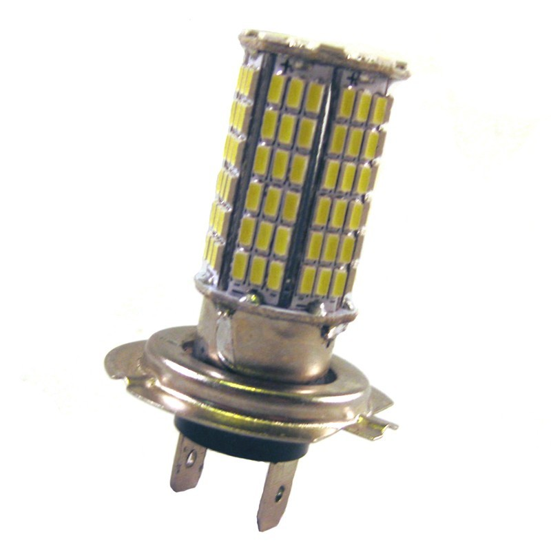 Ampoule H7 144 leds blanches 9-30 volts