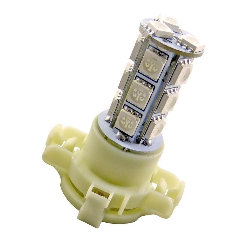 Ampoule Led PY24W à 18 leds 5050 Ambres