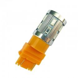 Ampoule Led WY27W PY27W 3156 T25 à 12 + 1 leds Ambres