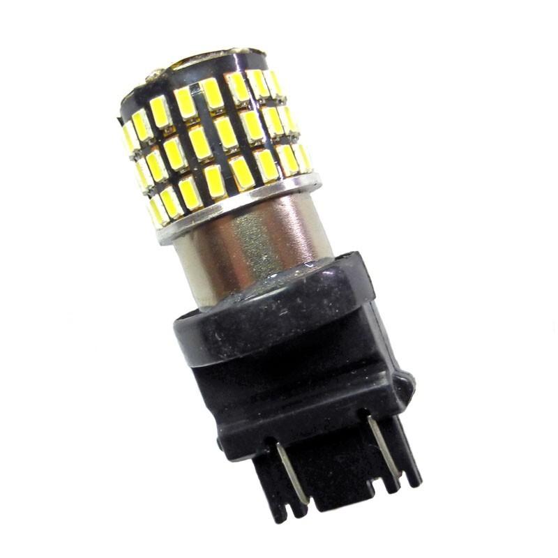 Ampoule Led P27/7W 3157 T25 à 78 leds Blanches