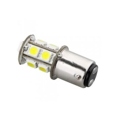 Ampoule P21/5W BAY15D 13 Leds blanches