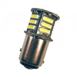 Ampoule P21/5W BAY15D 21 Leds blanches