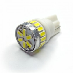 Ampoule Wedge T10 W5W W16W 24 leds blanches