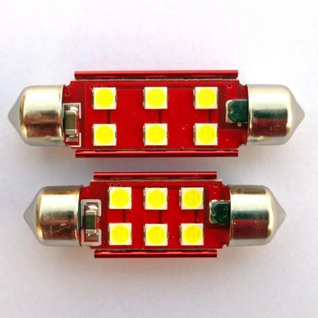 Ampoule navette C5W C10W 9-30 volts