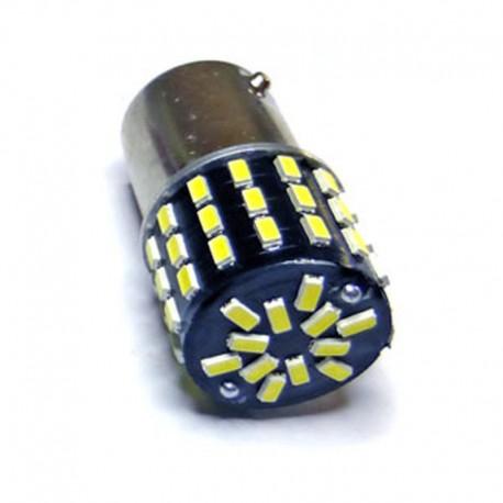 Ampoule P21/5W BAY15D 54 Leds pour feux de jour