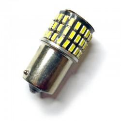 Ampoule P21/5W BAY15D 78 Leds pour feux de jour