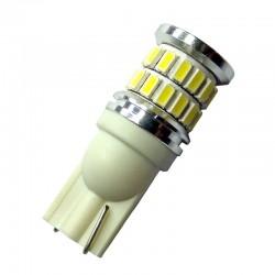 Ampoule Wedge T10 W5W W10W W16W 36 leds blanches