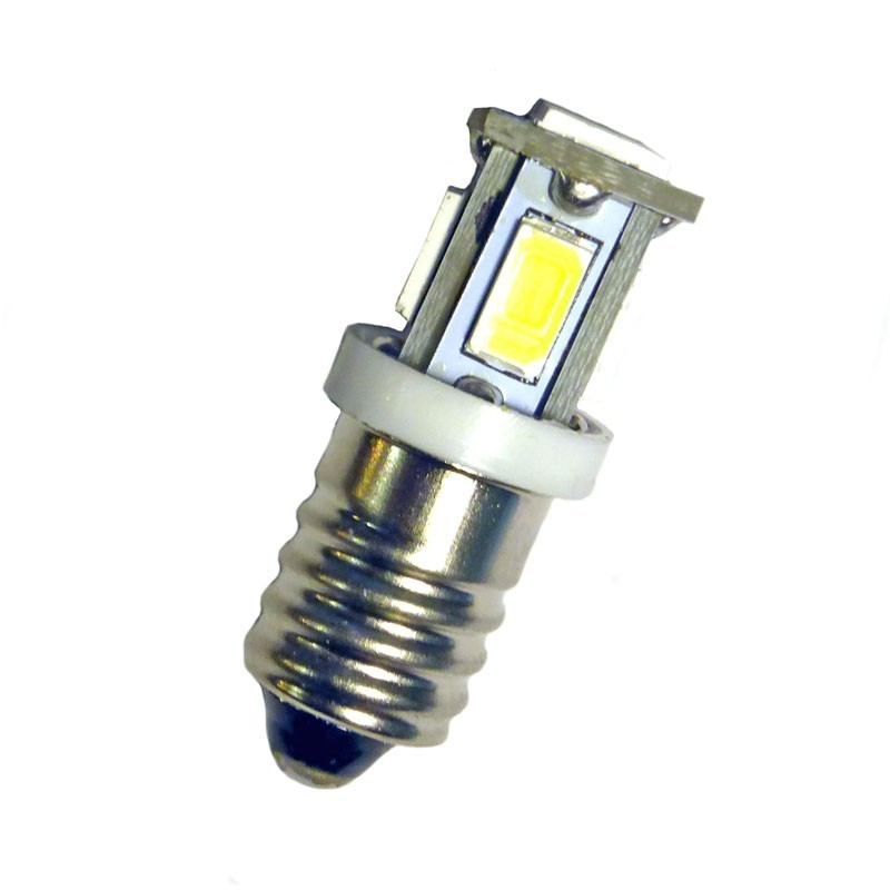 Ampoule p Leds 10 Blanches E Volts 6 Led Effect 4RA5jL