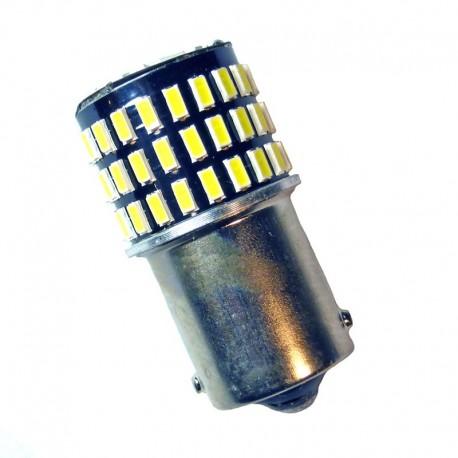 Ampoule P21W BA15S 78 Leds blanches