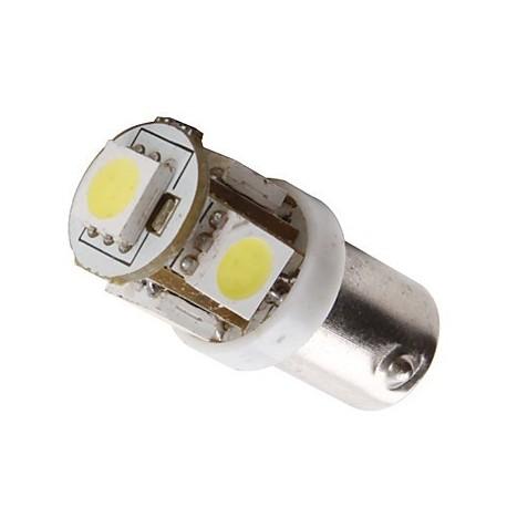Ampoule led 24v T4W BA9S 5 leds sans polarité
