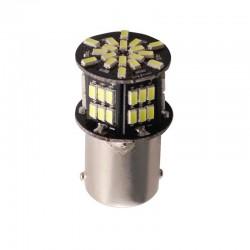 Ampoule P21W BA15S 54 Leds blanches 24 volts