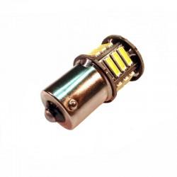 Ampoule P21W BA15S 21 Leds blanches 24 volts