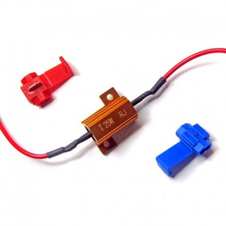 Résistance de charge pour clignotants 6 volts