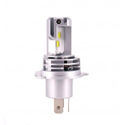 Ampoule led H4 de faible dimensions de 2 x 3000 Lumens