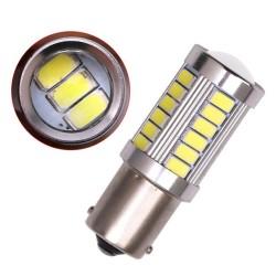 Ampoule P21W BA15S 33 Leds 5630 9 à 30 volts