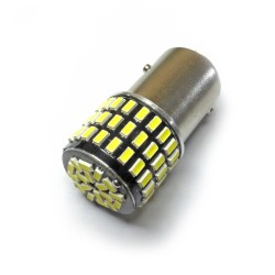 Ampoule P21/5W BAY15D 78 Leds blanches 9-30 volts