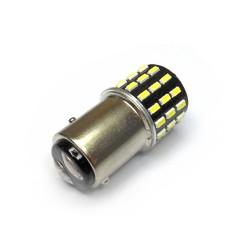 Ampoule P21/5W BAY15D 54 Leds blanches avec flash