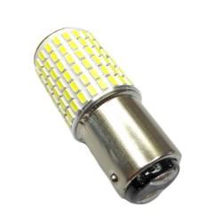 Ampoule P21/5W BAY15D 144 Leds blanches avec flash
