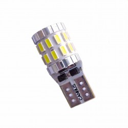 Ampoule Led T10 W5W 30 leds blanches 3014 canbus anti-erreur