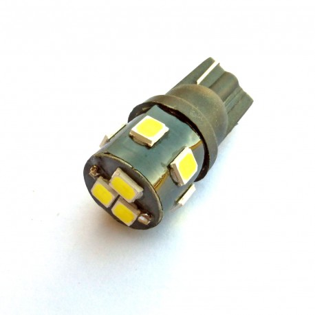 ampoule led Wedge T10 W5W 9 leds 2835