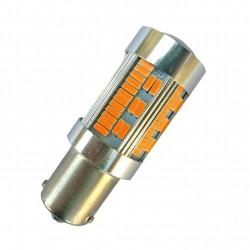 Ampoule PY21W BAU15S 105 leds 4014 canbus pour clignotant orange