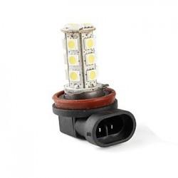 Ampoule H11 H8 H9 18 leds blanches