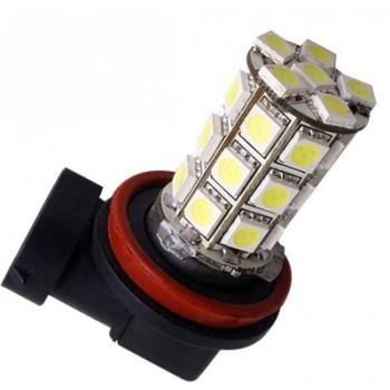 Ampoule H11 H8 H9 27 leds blanches