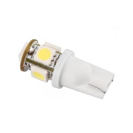 Ampoule led 24v T10-W5W 5 leds 5050