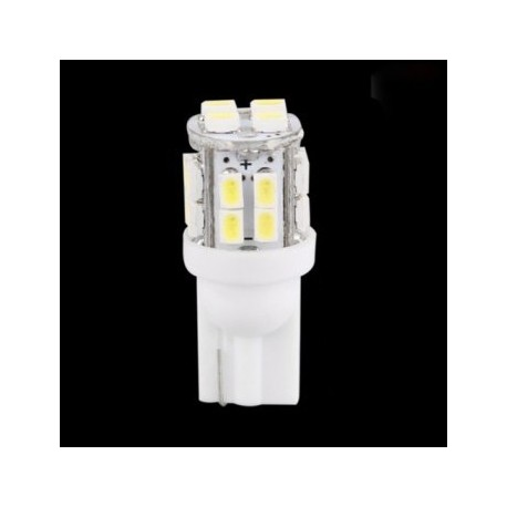 Ampoule led T10 W5W 20 leds blanches