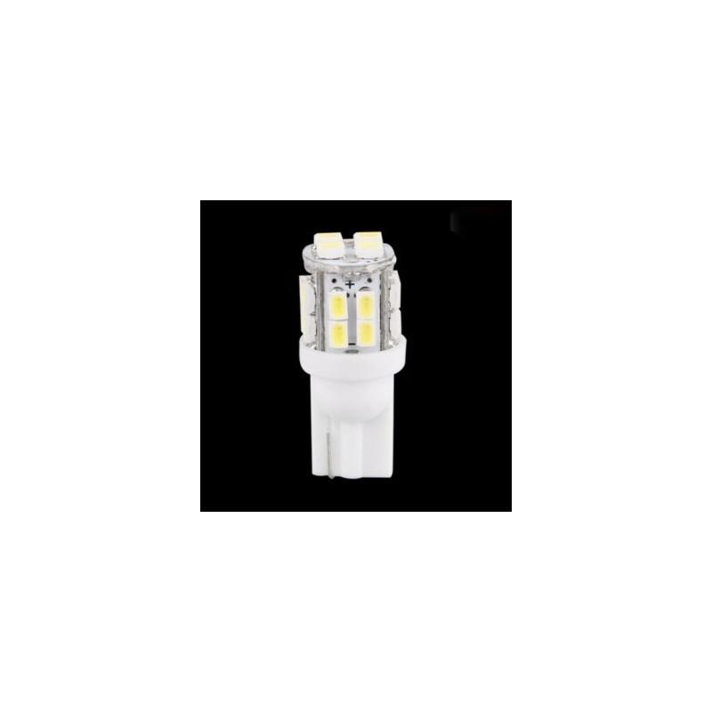 ampoule led t10 w5w 20 leds blanches led effect. Black Bedroom Furniture Sets. Home Design Ideas