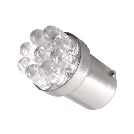 Ampoule R5W R10W 9 Leds rouges