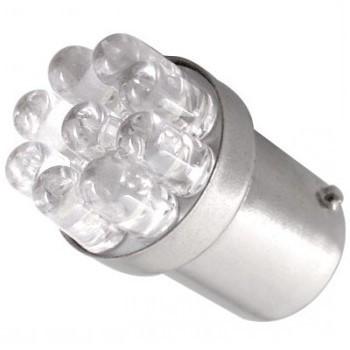 Ampoule R5W R10W 9 Leds rouges