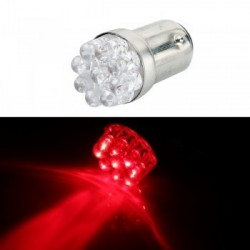 Ampoule P21/5W BAY15D 9 Leds rouges