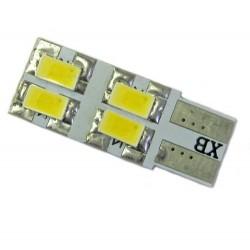 Ampoule Led T10-W5W 4 leds 5630