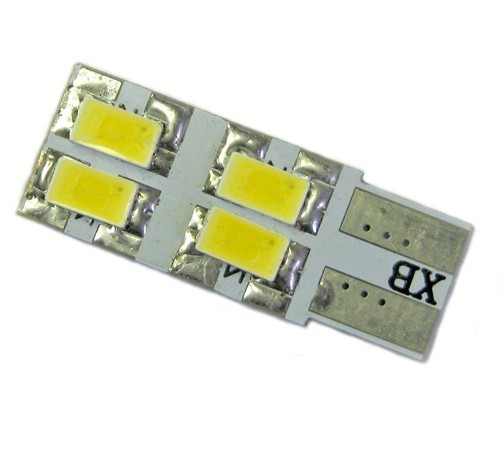 Ampoule Led T10-W5W 4 leds 5630
