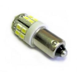 Ampoule led H6W BAX9S blanche 20 leds