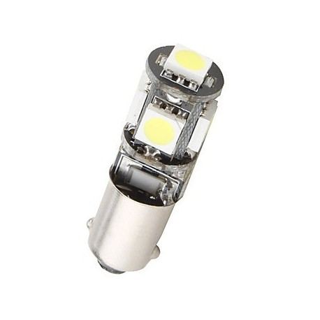 Ampoule T4W-BA9S 5 leds blanches canbus
