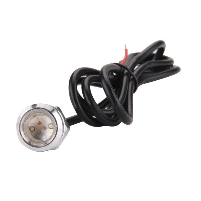 Paire de feux additionnels à 1 Led 1,5w rouge