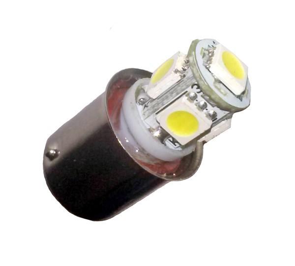 Ampoule R5W BA15S 5 Leds 24 volts